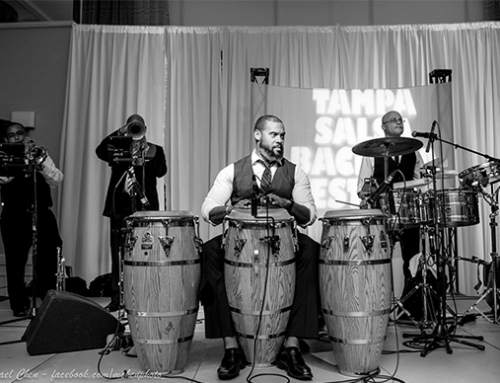 Andre Bovell Playing Percussion on April 30th 2016
