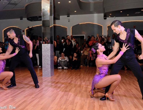 Salsa Heat Pro Team Performing on April 30th 2016